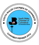 Image of the South Wales Chamber of Commerce logo. Chamber Member 2014